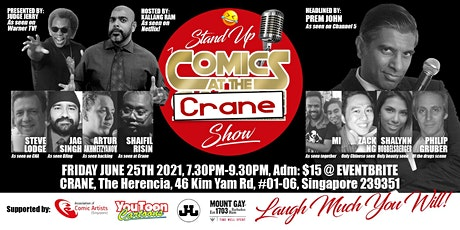 Stand Up COMICS at the CRANE Show tickets