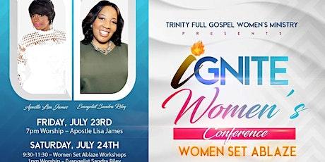IGNITE Women's Conference: Women Set Ablaze tickets