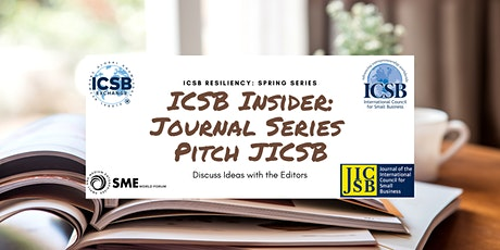 Journal Series: Pitch JICSB: June tickets