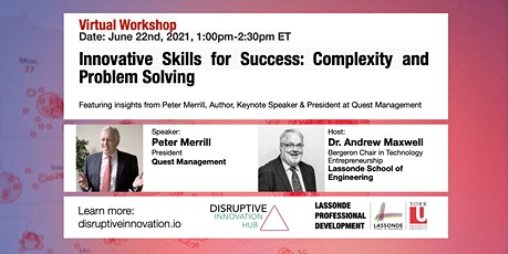 Innovative Skills for Success: Complexity and Problem Solving tickets