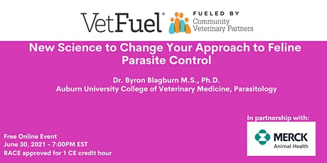 New Science to Change Your Approach to Feline Parasite Control tickets