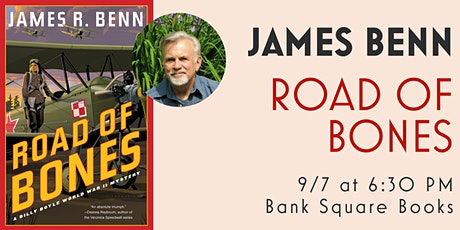 Author Talk and Q&A with James Benn for ROAD OF BONES tickets