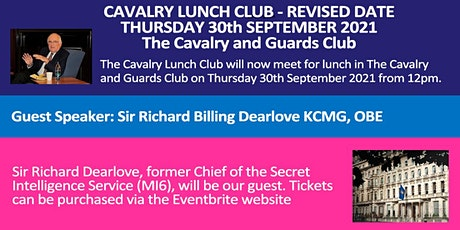 Lunch 30th September 2021  - Cavalry Lunch Club - REVISED DATE tickets