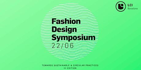 III Simposio de Diseño de Moda boletos
