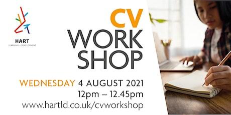 Hart Learning & Development - CV Workshop tickets