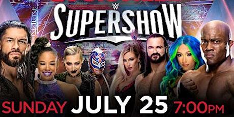 WWE SUPERSHOW tickets
