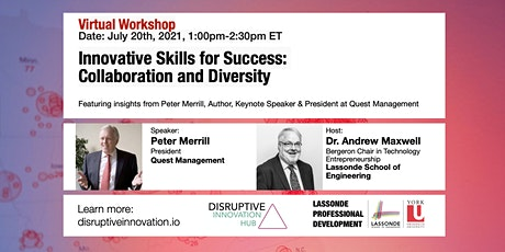 Innovative Skills for Success: Collaboration and Diversity tickets