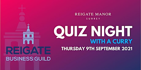 Quiz Night in support of The Reigate Business Guild tickets