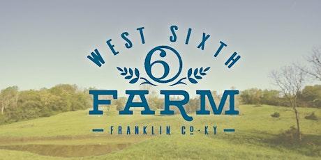 West Sixth Farm Tour tickets