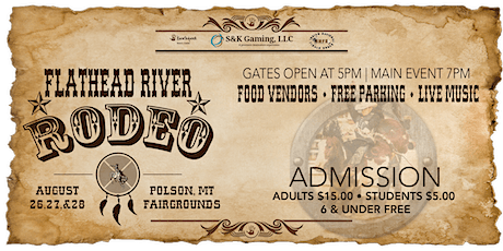 Flathead River Rodeo tickets