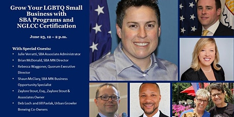 Grow Your LGBTQ Small Business with SBA Programs and NGLCC Certification tickets