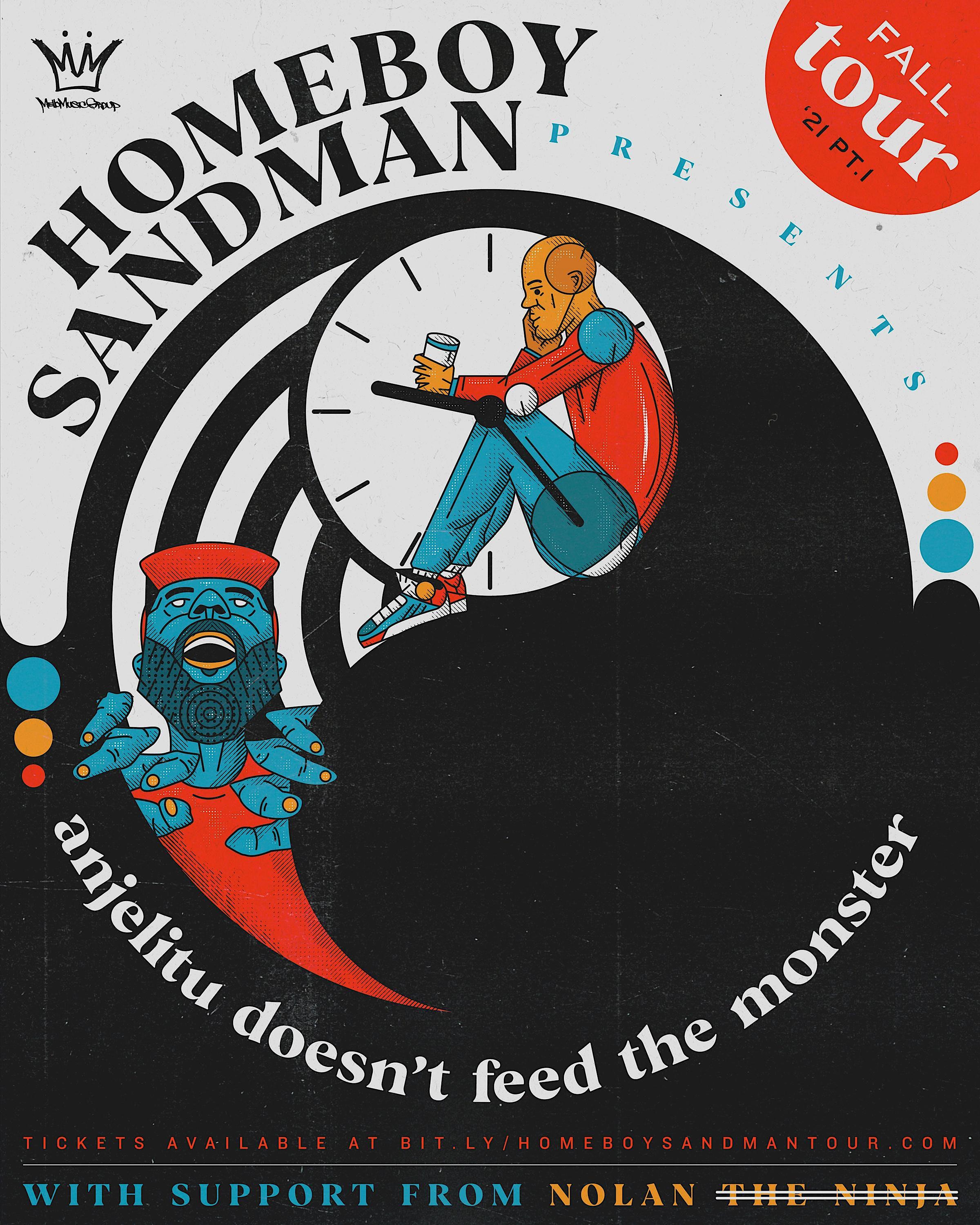 Homeboy Sandman, Nolan (FKA Nolan the Ninja) and more t.b.a. in Orlando at Will's Pub.