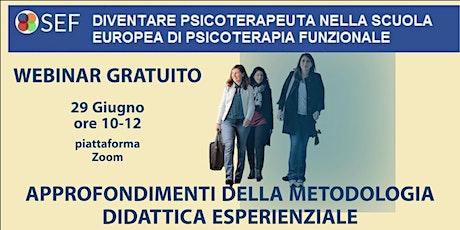 WEBINAR GRATUITO-DIVENTA PSICOTERAPEUTA -PERCORSO biglietti