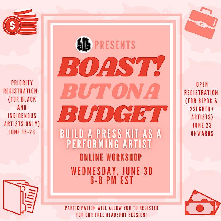Boast! But On A Budget image
