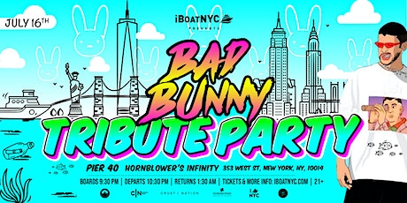 BAD BUNNY TRIBUTE Boat Party NYC tickets