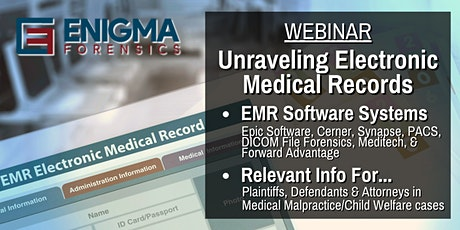 The Keys to Unlocking Electronic Medical Records tickets
