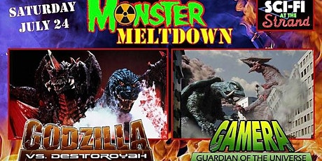 DOUBLE FEATURE - GODZILLA VS. DESTOROYAH & GAMERA: GUARDIAN OF THE UNIVERSE tickets