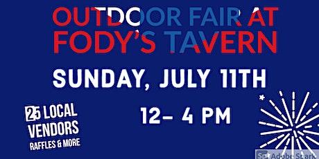 Outdoor Fair @Fodys Tavern tickets