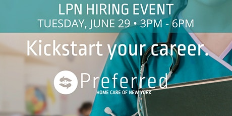CALLING ALL LPNs! HIRING EVENT - June 29th tickets