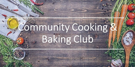 Community Cooking & Baking Club tickets