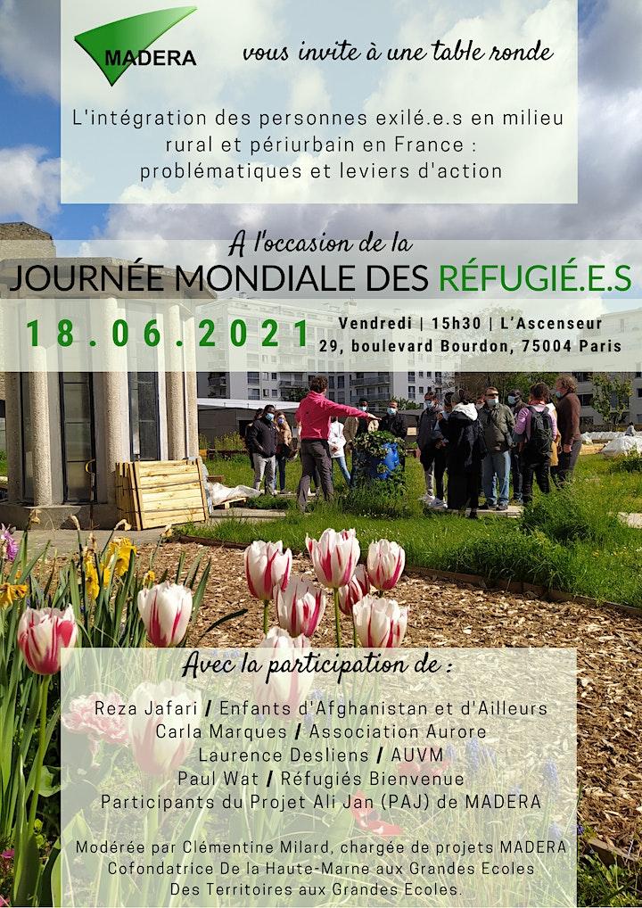 Image pour Journée Mondiale des Réfugié.e.s : Table ronde  sur l'intégration