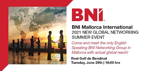 BNI Mallorca International 2021 Networking Summer Event entradas