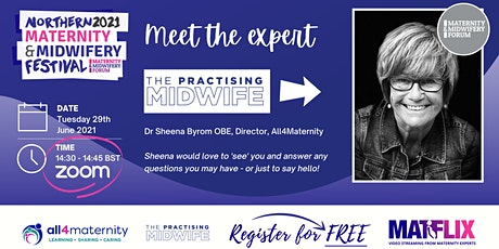 Meet The Expert - The Practising Midwife tickets
