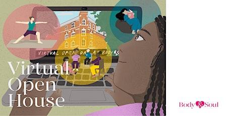 Body & Soul - HIV Virtual Open House tickets