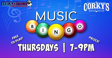 Music Bingo at Corky's Gaming Bistro - Grapevine, TX tickets