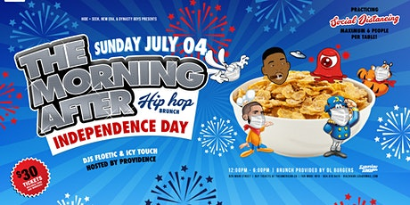 The Morning AFTER Brunch - INDEPENDENCE DAY - WE BACK B@#$@# tickets