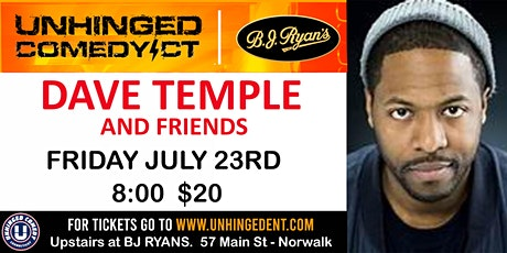 Unhinged Comedy presents: Dave Temple and Friends tickets
