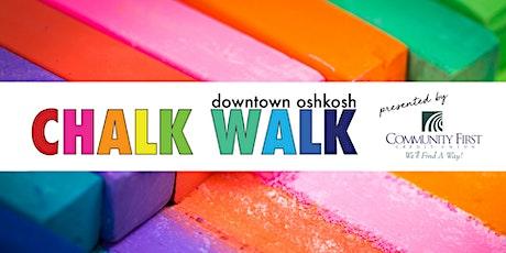 2021 Downtown Oshkosh Chalk Walk tickets