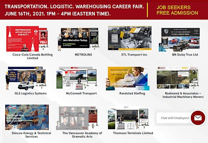 Truck Drivers Virtual Job Fair - June 16th, 2021 image