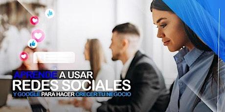 Curso GRATIS Online de Google y Redes Sociales  para Negocios en Monterrey entradas