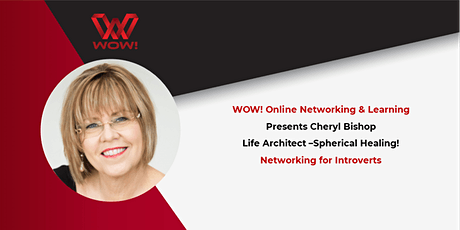 Networking for Introverts  - WOW! Networking & Learning tickets