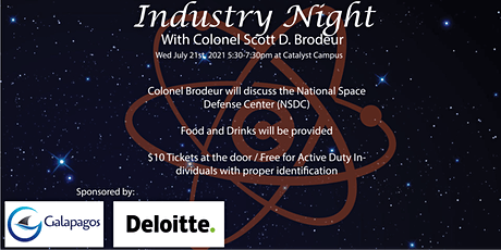USSF Industry Night with Col Scott D. Brodeur tickets