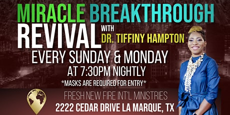 Miracle Breakthrough Revival Service tickets