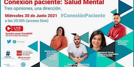 Conexión Paciente: Salud Mental entradas