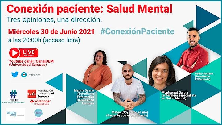 Imagen de Conexión Paciente: Salud Mental