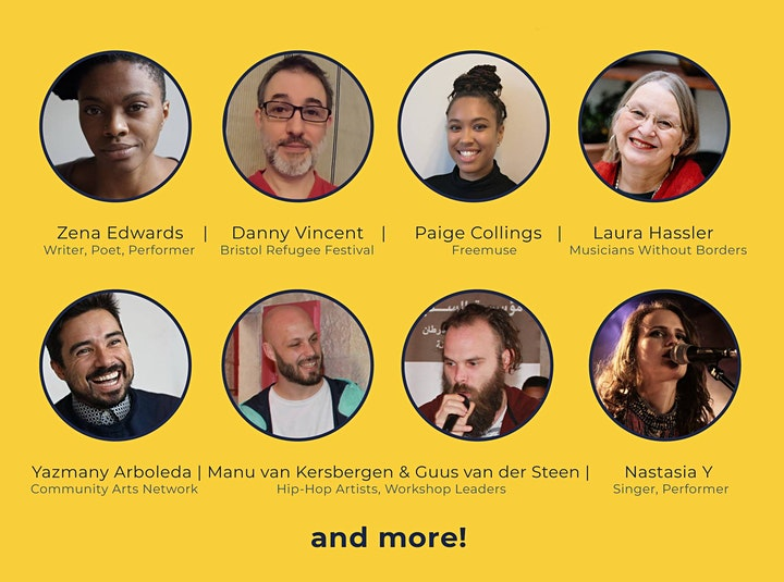 Artists as Changemakers: Online Conference image