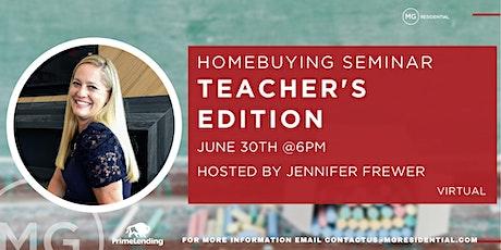 Homebuying Seminar Teacher's Edition tickets