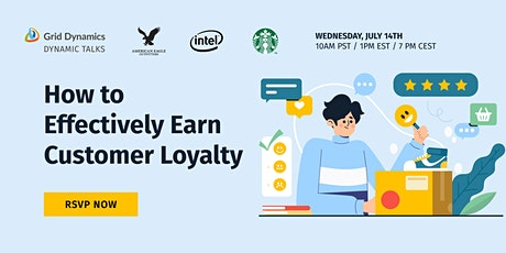 [Webinar] How to Effectively Earn Customer Loyalty tickets