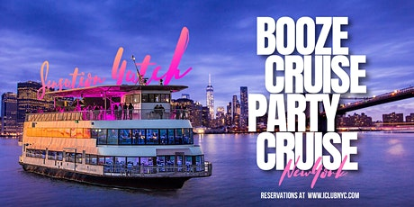 THE #1 NYC BOOZE CRUISE PARTY CRUISE | SENSATION YACHT Experience tickets