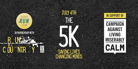 Secret Run Club - 5km run for the Campaign Against Living Miserably tickets