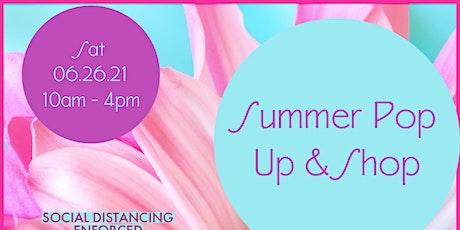Summer Pop Up & Shop tickets