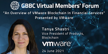 """""""An Overview of VMware Blockchain In Financial Services"""" tickets"""