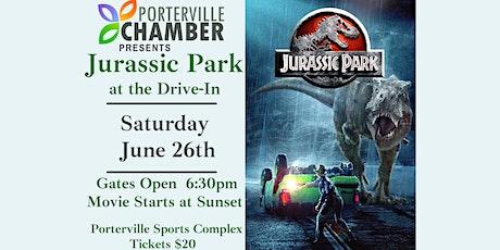 Cars Under The Stars- Jurassic Park tickets