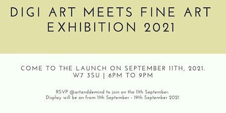 Digi art meets fine art exhibition tickets