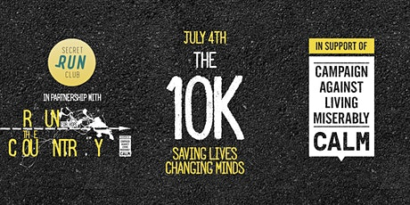 Secret Run Club - 10km run for the Campaign Against Living Miserably tickets