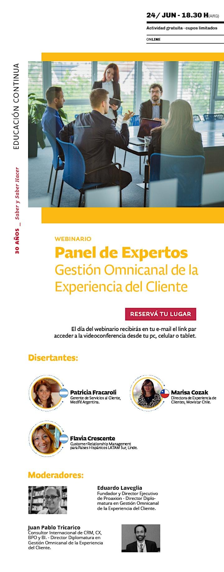 Imagen de Webinario>Panel de Expertos:Gestión Omnicanal de la Experiencia del Cliente